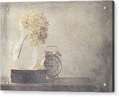 Disillusionment Of Nine Oa??clock Acrylic Print by Delphine Devos