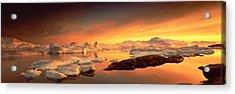 Disko Bay, Greenland Acrylic Print by Panoramic Images