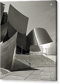 Disney Concert Hall Acrylic Print by Gregory Dyer