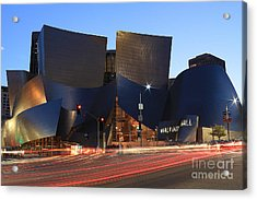 Acrylic Print featuring the photograph Disney Concert Hall by Kevin Ashley