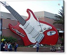 Disney Guitar Acrylic Print