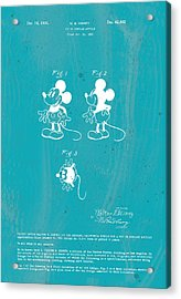 Disney Mickey Mouse Acrylic Print