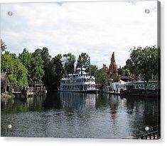 Disneyland Park Anaheim - 121212 Acrylic Print