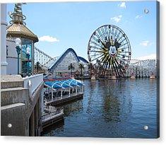Disneyland Park Anaheim - 121253 Acrylic Print