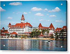 Disney's Grand Floridian Resort And Spa Acrylic Print