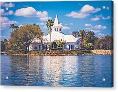 Disney's Wedding Pavilion Acrylic Print
