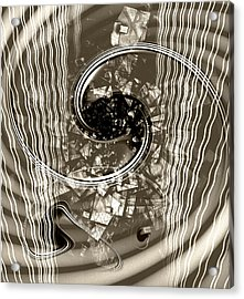 Disorder Upgrade Acrylic Print by Florin Birjoveanu