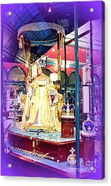 Display In Sydney Mall Acrylic Print by John Potts