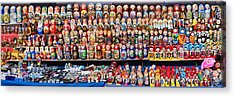 Display Of The Russian Nesting Dolls Acrylic Print by Panoramic Images