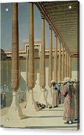 Display Of Trophies, 1871-72 Oil On Canvas Acrylic Print by Vasili Vasilievich Vereshchagin
