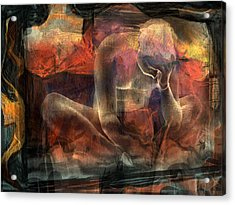 Disquietude-days Of Nothing (2) Acrylic Print by Sol Marrades