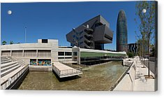 Disseny Hub Barcelona Design Museum Acrylic Print by Panoramic Images