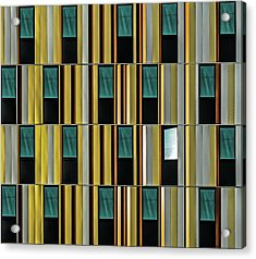 Dissident Window Acrylic Print by Luc Vangindertael (lagrange)