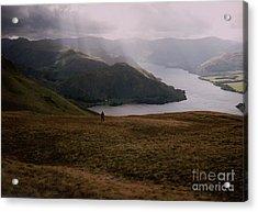 Distant Hills Cumbria Acrylic Print