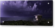 Distant Lightning Acrylic Print