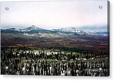 Distant Rockies Acrylic Print