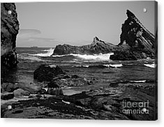 Distant Ship Acrylic Print by Deena Otterstetter