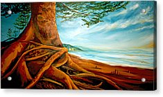 Acrylic Print featuring the painting Distant Shores Rejoice by Meaghan Troup