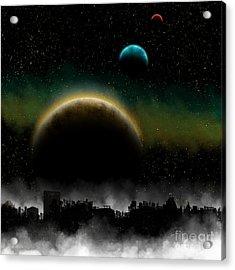 Distant Skys Acrylic Print