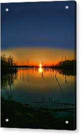 Distant Sunrise Acrylic Print