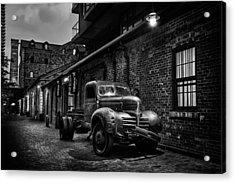 Distillery District Toronto Mono Acrylic Print
