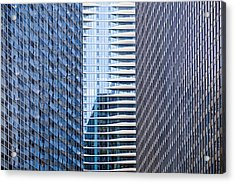 Distinctive Hotel Between Skyscrapers Acrylic Print