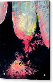 Distraction Abstraction Acrylic Print by Betty Pieper