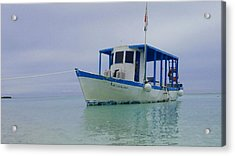 Dive Boat Acrylic Print