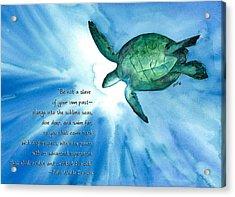 Dive Deep Acrylic Print