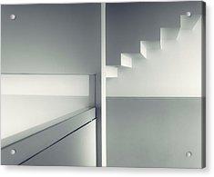 Dividing Angles Acrylic Print