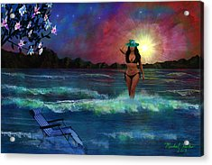 Divine Beauty Acrylic Print by Michael Rucker