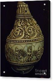 Divine Conch Hindu God Varaha Acrylic Print