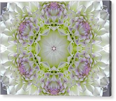 Divine Grace Mandala Acrylic Print