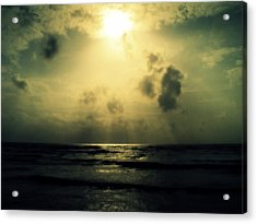 Divine Light Acrylic Print by Salman Ravish