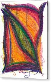 Divine Love Acrylic Print by Daina White
