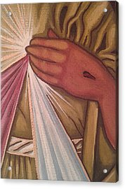 Divine Mercy Acrylic Print by Susan Howard