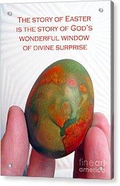 Divine Surprise Acrylic Print by Ausra Huntington nee Paulauskaite