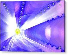 Divine Vision Acrylic Print by Ute Posegga-Rudel