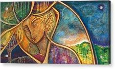 Divine Wisdom Acrylic Print