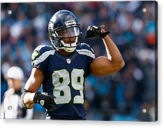 Divisional Round - Seattle Seahawks V Carolina Panthers Acrylic Print by Jamie Squire