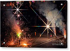 Diwali Celebration Acrylic Print