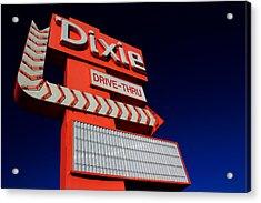 Dixie Drive Thru Acrylic Print