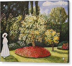 Dixie's Garden Acrylic Print