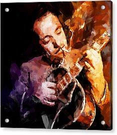 Django Reinhardt Acrylic Print by Andy Whorewal