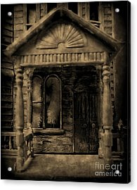 Do Not Enter Acrylic Print by John Malone