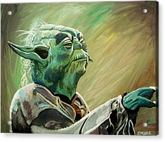 Do Or Do Not    There Is No Try Acrylic Print by Jeremy Moore