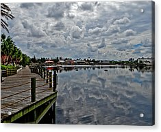 Do We Have Clouds Acrylic Print by Dennis Dugan