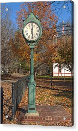 Do You Have The Time Acrylic Print by Thomas Sellberg