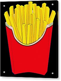 Do You Want Fries With That Acrylic Print