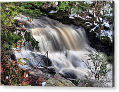 Doane's Lower Falls In Central Mass. Acrylic Print